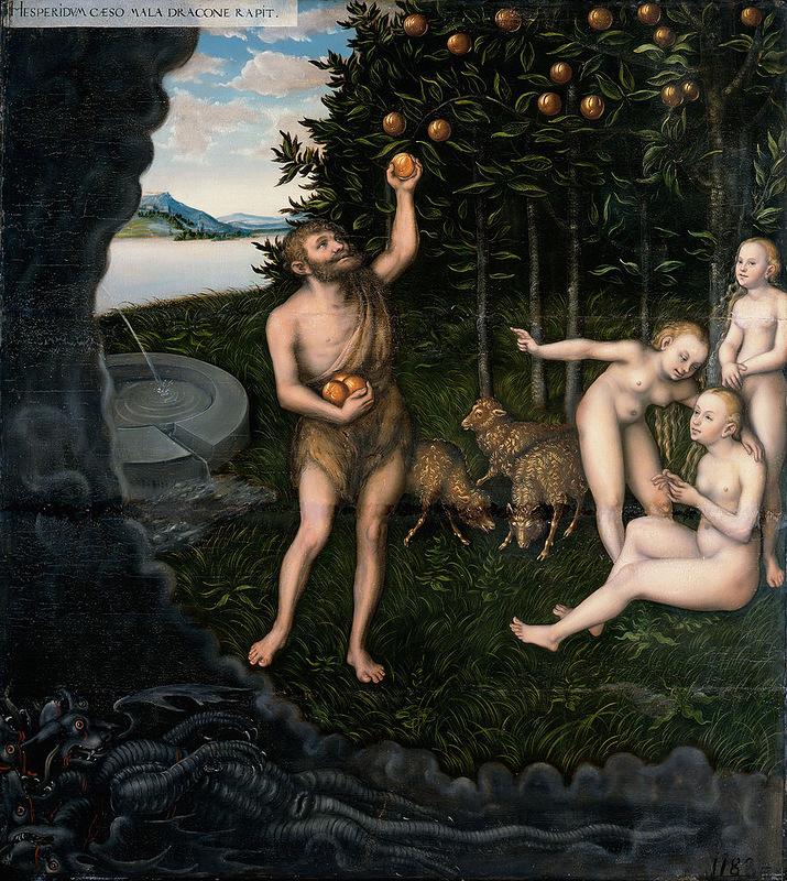 Геракл в саду Гесперид